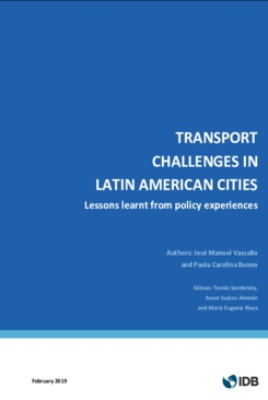 libro Transport Challenges in Latin American Cities